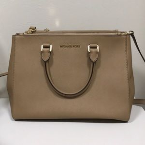 Michael Kors Sutton Saffiano Leather Large Satchel